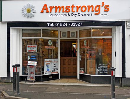 Armstrongs dry cleaning shop